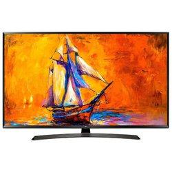 LG 49LK6000 (черный) - ТелевизорТелевизоры и плазменные панели<br>ЖК-телевизор, LED, 48.5quot;, 1920x1080, 1080p Full HD, HDR, TFT IPS, 2 TV-тюнера, мощность звука 20 ВтHDMI x2, Ethernet, Wi-Fi, Smart TV.