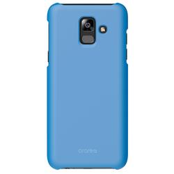 Чехол-накладка для Samsung Galaxy A6 Plus 2018 (Araree Aero GP-A605KDCPBIC) (синий) - Чехол для телефонаЧехлы для мобильных телефонов<br>Чехол плотно облегает корпус и гарантирует надежную защиту от царапин и потертостей.
