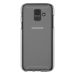 Чехол-накладка для Samsung Galaxy A6 Plus 2018 (Araree A Cover GP-A605KDCPAIA) (прозрачный) - Чехол для телефонаЧехлы для мобильных телефонов<br>Чехол плотно облегает корпус и гарантирует надежную защиту от царапин и потертостей.