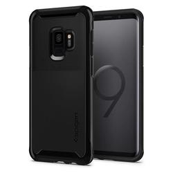 Чехол-накладка для Samsung Galaxy S9 (Spigen Neo Hybrid Urban 592CS22888) (черный) - Чехол для телефонаЧехлы для мобильных телефонов<br>Защитит устройство от пыли, влаги, царапин и других внешних воздействий.