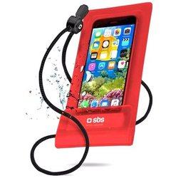 Универсальный водонепроницаемый чехол для телефонов до 5.5 (SBS TEWATEREASY55R) (красный) - Универсальный чехол для телефонаУниверсальные чехлы для мобильных телефонов<br>Представляет собой универсальный, водонепроницаемый чехол для смартфонов. Аксессуар совместим с любым телефоном, диагональ которого не превышает 5.5quot;. Абсолютно герметичен в закрытом виде, что гарантирует сохранность смартфона на глубине.