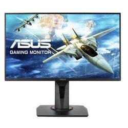 ASUS VG258Q - МониторМониторы<br>ASUS VG258Q - монитор, 24.5quot;, LED, Wide, 1920x1080, 144Hz, 1ms, 170°/160°, 400 cd/m, 100000000:1, DVI, DP, HDMI, MM, USB.