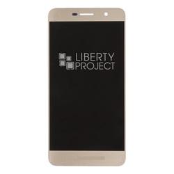 Дисплей для Huawei Honor 4c Pro с тачскрином (0L-00037290) (золотистый) - Дисплей, экран для мобильного телефона