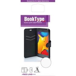 Чехол-книжка для Huawei Y5 2018 (Red Line Book Type YT000014547) (черный) - Чехол для телефонаЧехлы для мобильных телефонов<br>Чехол плотно облегает корпус и гарантирует надежную защиту от царапин и потертостей.