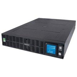 Интерактивный ИБП CyberPower PR1000ELCDRTXL2U - Источник бесперебойного питания, ИБПИсточники бесперебойного питания<br>Интерактивный ИБП CyberPower PR1000ELCDRTXL2U - интерактивный, монтаж в стойку, 2200 ВА 1650 Вт, количество выходных разъемов:  10 (10 с питанием от батареи), время работы: 5 мин, USB, RS-232, защита локальной сети, защита телефонной линии