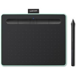 Графический планшет WACOM Intuos S Bluetooth (CTL-4100WLE-N) (фисташковый) - Графический планшетГрафические планшеты<br>Тип: A6, количество клавиш: 4, беспроводное перо, тип подключения: Bluetooth, USB.
