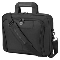 HP Value Top Load 16.1 (черный) - Сумка для ноутбукаСумки и чехлы<br>HP Value Top Load 16.1 - сумка, для 16.1quot; ноутбуков, из синтетических материалов, отделение-органайзер, водонепроницаемый материал