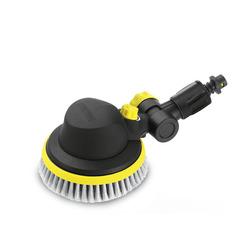 Щетка WB 100 Wash Brush для Karcher G 4.10 M, G 7.10 M, K 2, K 4, K 5, K 7 (Karcher 2.643-236.0) - АксессуарАксессуары для моек ВД<br>Поворотная щетка для чистки любых гладких поверхностей, таких как стекло, пластик или покрашенные поверхности. Щетка поворачивается на 180°, что позволяет эффективно чистить даже труднодоступные места.