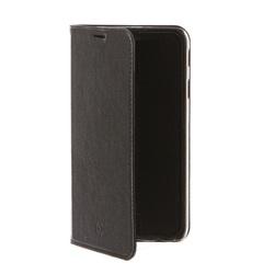 Чехол-книжка для Samsung Galaxy A6 Plus 2018 (Celly Air Case AIR738BKCP) (черный) - Чехол для телефонаЧехлы для мобильных телефонов<br>Чехол плотно облегает корпус и гарантирует надежную защиту от царапин и потертостей.