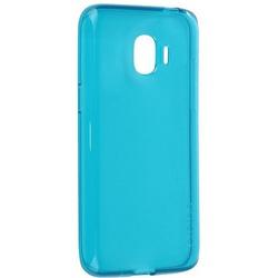 Чехол-накладка для Samsung Galaxy J6 2018 (Araree J Cover GP-J600KDCPAIC) (синий) - Чехол для телефонаЧехлы для мобильных телефонов<br>Чехол плотно облегает корпус и гарантирует надежную защиту от царапин и потертостей.