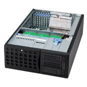 SuperMicro CSE-745TQ-R800B - Рэковое сетевое хранилищеРэковые сетевые хранилища<br>Корпус компьютерный Tower/4U, отсеки 8x3.5quot; SAS/SATA, два блока питания 800Вт, рельсы при необходимости монтажа в 19quot; стойку приобретаются дополнительно.