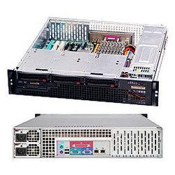 SuperMicro CSE-825MTQ-R700LPB - Рэковое сетевое хранилищеРэковые сетевые хранилища<br>Корпус серверный 2U, отсеки 3x3.5quot; SAS/SATA с возможностью горячей замены, два блока питания 700 Вт.
