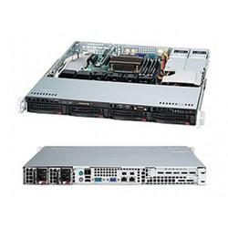 SuperMicro CSE-813MTQ-R400CB - Рэковое сетевое хранилищеРэковые сетевые хранилища<br>Корпус серверный 1U, отсеки 4x3.5quot; SAS/SATA с возможностью горячей замены, два блока питания 400 Вт.