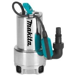 Makita PF0610 - Насос бытовойВодяные насосы<br>Makita PF0610 - погружной дренажный, глубина погружения 5 м, качает 10.8 куб. м/час, мощность 550 Вт, <br>качает даже грязную воду, <br>вертикальная установка, автоматика слежения за уровнем воды