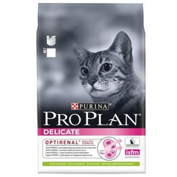 Корм для кошек Purina Pro Plan (3 кг) Delicate feline rich in Lamb dry