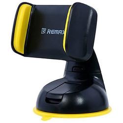 Универсальный автомобильный держатель (REMAX RM-C06) (черный) - Автомобильный держатель для телефонаАвтомобильные держатели для мобильных телефонов<br>Для любых смартфонов с диагональю экрана от 3.5 до 6 дюймов (от 50 - 85 мм).
