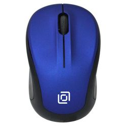 Oklick 665MW USB Black-Blue - МышьМыши<br>Беспроводная мышь, интерфейс ресивера USB, 1000 dpi, 3 кнопки.
