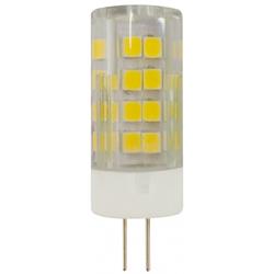 Лампа светодиодная ЭРА Б0027857 (JC-5w-220V-corn) - ЛампочкаЛампочки<br>Лампа светодиодная, 5w, 220V, G4, 2700K.