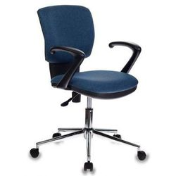 Бюрократ CH-636AXSL/DENIM - Стул офисный, компьютерныйКомпьютерные кресла<br>Пружинно-винтовой механизм качания спинки. Регулировка высоты (газлифт). Хромированная крестовина. Подлокотники пластиковые. Ограничение по весу: 120 кг.