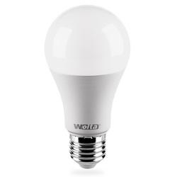 Wolta Ваша Лампа 15Вт Е27 3000К - ЛампочкаЛампочки<br>Светодиодная лампочка, цоколь: E27, тип лампы: А60, мощность: 15Вт, количество светодиодов: 10, материал изделия: сплав алюминия, термопластик.