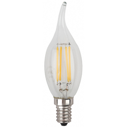 ЭРА F-LED BXS-7w-840-E14  - ЛампочкаЛампочки<br>Светодиодная лампочка, мощность 7Вт, цоколь Е14, тип: свеча на ветру, материал: стекло, пластик, металл.
