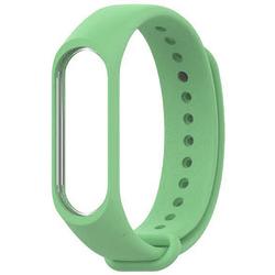 Ремешок для Хiaomi Mi Band 3 (981587) (Light Green) - Ремешок для умных часовРемешки для умных часов<br>Выполнен из качественного силикона, оснащен надежной застежкой и имеет несколько позиций установки размера.