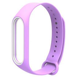 Ремешок для Хiaomi Mi Band 3 (981583) (Purple) - Ремешок для умных часовРемешки для умных часов<br>Выполнен из качественного силикона, оснащен надежной застежкой и имеет несколько позиций установки размера.