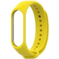 Ремешок для Хiaomi Mi Band 3 (981577) (Yellow) - Ремешок для умных часовРемешки для умных часов<br>Выполнен из качественного силикона, оснащен надежной застежкой и имеет несколько позиций установки размера.