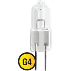 Navigator JC 10W G4 12V 2000h - ЛампочкаЛампочки<br>Лампа галогенная, мощность 10Вт, цоколь G4, форма: капсульная.