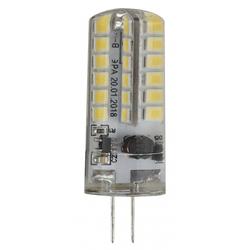 ЭРА LED-JC-3,5W-12V-827-G4 - ЛампочкаЛампочки<br>Светодиодная лампа, мощность 3.5Вт, цоколь G4, материал: пластик, металл.