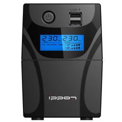 Ippon Back Power Pro II 700 - Источник бесперебойного питания, ИБПИсточники бесперебойного питания<br>Линейно-интерактивный ИБП, 700ВA/420Вт, выходные розетки типа IEC320: 4, интерфейс USB.