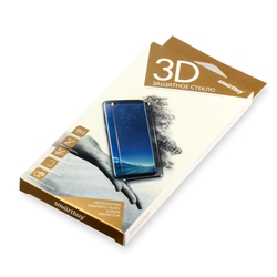 Защитное 3D стекло для Nokia 8 (Smartbuy SBTG-3D0018) (черный) - ЗащитаЗащитные стекла и пленки для мобильных телефонов<br>Защитит экран смартфона от царапин, пыли и механических повреждений.