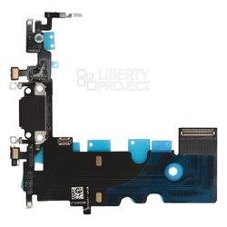 Шлейф для Apple iPhone 8 (системный разъем) (0L-00038451) - Шлейф для мобильного телефонаШлейфы для мобильных телефонов<br>Шлейф в мобильном телефоне – маленькая, но неотъемлемая часть конструкции, представляющая собой систему контактных проводов, которая соединяет различные детали телефона.
