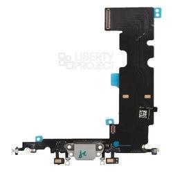Шлейф для Apple iPhone 8 Plus (системный разъем) (0L-00038454) (белый) - Шлейф для мобильного телефонаШлейфы для мобильных телефонов<br>Шлейф в мобильном телефоне – маленькая, но неотъемлемая часть конструкции, представляющая собой систему контактных проводов, которая соединяет различные детали телефона.