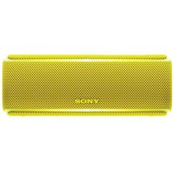 Sony SRS-XB21 (желтый) - Колонка для телефона и планшетаПортативная акустика<br>Звук стерео, питание от батарей, Bluetooth.