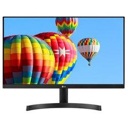 Монитор LG 24MK600M - МониторМониторы<br>Монитор LG 24MK600M - ЖК (TFT IPS) 23.8quot;, широкоформатный, 1920x1080, LED-подсветка, 250 кд/м2, 1000:1, 5 мс, 178°/178°, HDMI x2, VGA