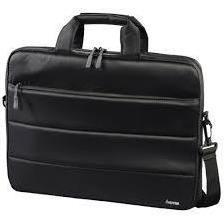 Сумка для ноутбука 15.6 (Hama Toronto 00101848) (черный) - Сумка для ноутбукаСумки и чехлы<br>Hama Toronto - сумка для ноутбука с диагональю 15.6quot;, материал: нейлон, передний и задний карманы, ручки для переноски, съемный плечевой ремень.