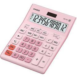 Casio GR-12C-PK (розовый) - КалькуляторКалькуляторы<br>Калькулятор настольный бухгалтерский, 12-и разрядный, питание: батарейки + солнечный элемент.