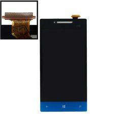 Дисплей для HTC Windows Phone 8S с тачскрином Qualitative Org (sirius) (синий) - Дисплей, экран для мобильного телефона