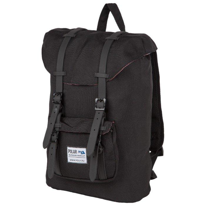 ee5d76245354 РосТест - официальная гарантия производителя рюкзак polar 17211 13.1 black