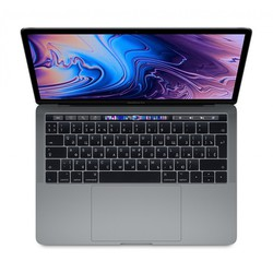 "apple macbook pro 13 with retina display and touch bar mid 2018 (intel core i5 2300 mhz/13.3""/2560x1600/16gb/256gb ssd/dvd нет/intel iris plus graphics 655/wi-fi/bluetooth/macos) (z0v7000l5) (серый)"