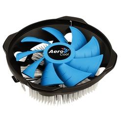 Aerocool BAS U-3P - Кулер, охлаждениеКулеры и системы охлаждения<br>Кулер для процессоров Intel/AMD, охлаждение 1х120 мм вентилятор, разъем 3-pin.