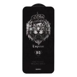 Защитное стекло для Apple iPhone X, Xs (REMAX Emperor Series 9D Tempered Glass GL-32) (черный) - ЗащитаЗащитные стекла и пленки для мобильных телефонов<br>Стекло поможет уберечь дисплей от внешних воздействий и надолго сохранит работоспособность смартфона.