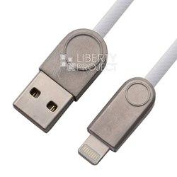Кабель USB - Lightning для Apple 5, 5S, SE, 5C, 6, 6 Plus, 6S, 6S Plus, 7, 7 Plus, 8, 8 Plus, X, ipad 4, Air, Air 2, mini, mini 2, mini 3, mini 4, ipad 2017, pro 9.7, pro 12.9, pro 10.5 ( Zetton ZTUSBRSETWEA8) (белый) - Кабели Владикавказ игровые аксессуары для компьютера