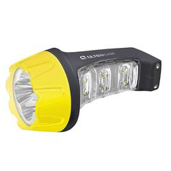 Ultraflash LED3804MS - ФонарьФонари<br>Дистанция освещения — до 20 м, 2 режима работы, время работы — до 4 часов, выдвижная сетевая вилка, IP22.