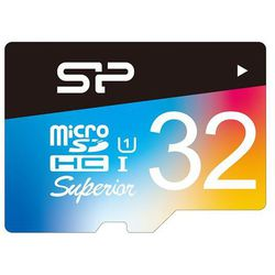 silicon power microsdhc 32gb class10 + sd adapter