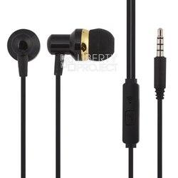 WK WI90 (черный) - НаушникиНаушники и Bluetooth-гарнитуры<br>Наушники, вставные, динамические, 20-20000 Гц, однокнопочный пульт с микрофоном, хорошая изоляция от посторонних шумов, форма коннектора прямая.
