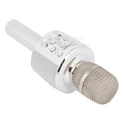 HOCO BK3 Cool Sound KTV Microphone - МикрофонМикрофоны<br>Предназначен для одновременного воспроизведения музыки и голоса исполнителя (функция караоке), может использоваться как портативная колонка.