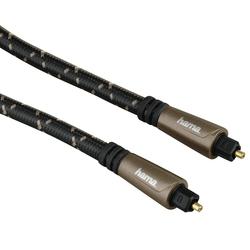 Кабель ODT Toslink (M)-ODT Toslink (M) 3м (Hama Optical Fibre H-122263) (черный) - Кабель, разъем для акустической системыКабели и разъемы для акустических систем<br>Аудио-кабель ODT Toslink (M)-ODT Toslink (M), позолоченные контакты, длина 3м.