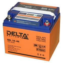 Delta GEL 12-45 (12V, 45Ач) - Батарея для ибп  - купить со скидкой